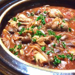 豆と鶏肉の煮込み
